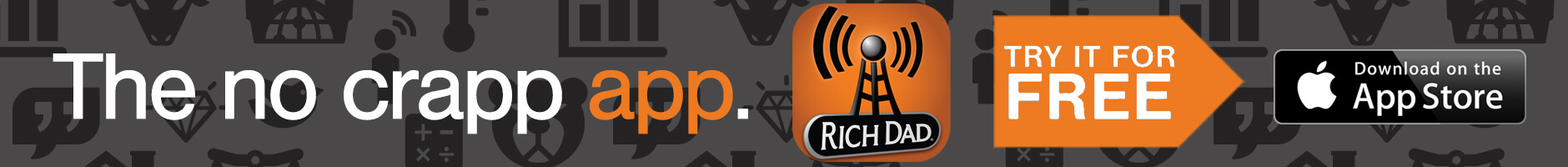 Rich Dad Radio Show App - Try it for FREE