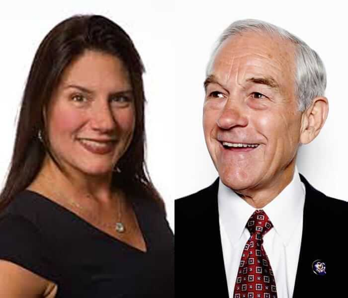 Rich Dad Radio Show guests Ron Paul & Danielle DiMartino Booth